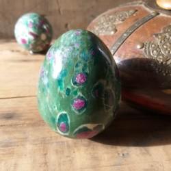 rubis sur fuchsite sphère