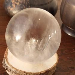 cristal de roche sphère